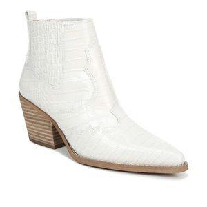 Sam Edelman Winona crock embossed western boot